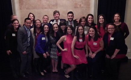 2014 Emerge Class at the Alumni Holiday Party
