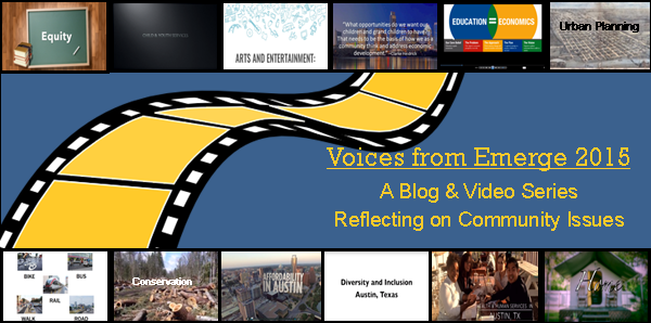 Voices from Emerge 2015: Homelessness, Poverty & Basic Needs