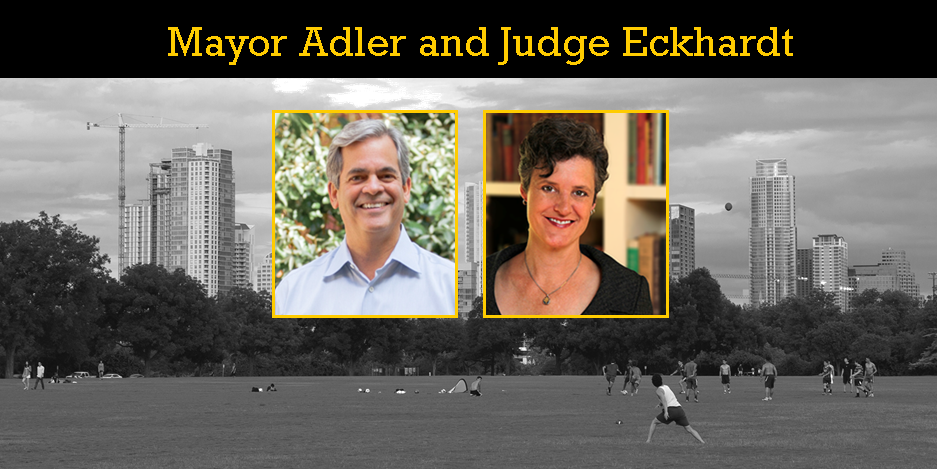 Info & Tickets for June 22 Engage: Mayor Adler and Judge Eckhardt