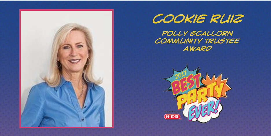 Cookie Ruiz To Be Presented Polly Scallorn Community Trustee Award